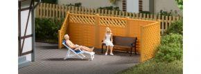 Auhagen 41648 Sichtschutzzaun mit Säulen | Bausatz Spur H0 kaufen