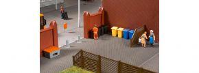 Auhagen 41649 Set Mülltonnen mit Zubehör | Bausatz Spur H0 kaufen