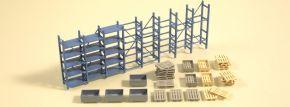 Auhagen 41660 Schwerlastregal und Paletten | Bausatz Spur H0 kaufen