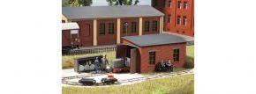 Auhagen 41708 Feldbahnlokschuppen mit Tankstelle | Bausatz Spur H0 kaufen