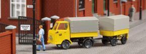Auhagen 43662 Multicar M22 Post mit Anhänger | Bausatz Spur TT kaufen