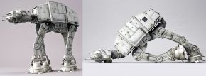 BANDAI 01205 AT-AT Walker | Star Wars Snap-Fit Bausatz 1:144 kaufen