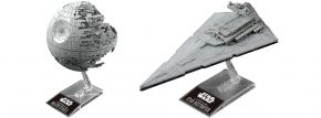 BANDAI 01207 Death Star II + Imperial Star Destroyer | Star Wars Snap-Fit Bausatz kaufen