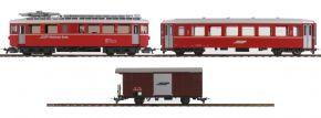 BEMO 7268120 Start-Set Berninabahn E-Triebwagen ABe 4/4 | RhB | DC analog | Spur H0m kaufen