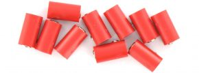 BRAWA 3042 Runde Muffen | 2,5 mm | Rot | 10 Stück kaufen