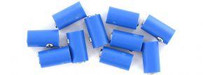 BRAWA 3045 Runde Muffen | 2,5 mm | Blau | 10 Stück kaufen