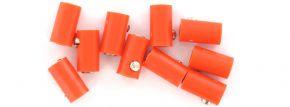 BRAWA 3046  Runde Muffen | 2,5 mm | Orange | 10 Stück kaufen