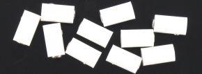 BRAWA 3049  Runde Muffen | 2,5 mm | Weiß | 10 Stück kaufen