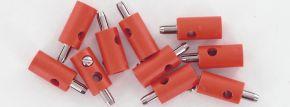 BRAWA 3052 Runde Querlochstecker | 2,5 mm | Rot | 10 Stück kaufen