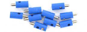 BRAWA 3055 Runde Querlochstecker | 2,5 mm | Blau | 10 Stück kaufen