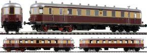 BRAWA 44385 Triebwagen VT137/VB147 | AC Digital | DCC SOUND | EXTRA | DRG | Spur H0 kaufen