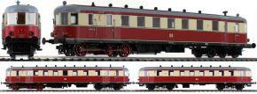 BRAWA 44394 Triebwagen VT137/VT147 | DC Analog | BASIC+ | DR | Spur H0 kaufen
