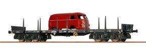 BRAWA 47117 Rungenwagen Rmms 663 DB | DC | Spur H0 kaufen