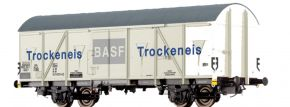 BRAWA 47275 Güterwagen Gbs-uv 253 | DC | DB | BASF Trockeneis | Spur H0 kaufen
