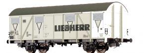BRAWA 47282 Güterwagen Gbs 245 | DC | DB | Liebherr | Spur H0 kaufen