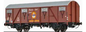 BRAWA 47283 Gedeckter Güterwagen Glmhs 50 Osram DB | DC | Spur H0 kaufen