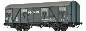 BRAWA 47292 Güterwagen GLMMHS 57 DB MAN | DC | Spur H0 kaufen