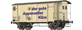 BRAWA 47884 Güterwagen Gklm Appenzeller SBB   DC   Spur H0 kaufen