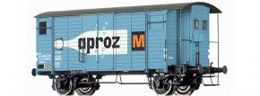 BRAWA 47885 Güterwagen Gklm Aproz SBB   DC   Spur H0 kaufen