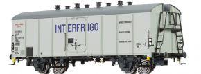 BRAWA 48345 Kühlwagen Ibces INTERFRIGO DB | DC | Spur H0 kaufen