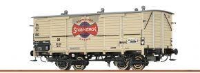 BRAWA 48661 Güterwagen Gh 03 DB Stollwerk | DC | Spur H0 kaufen