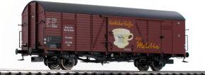 BRAWA 48741 Güterwagen Glr   DC   DRG   Melitta   Spur H0 kaufen