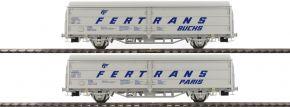 BRAWA 48980 2-teiliges Set Schiebewandwagen Hbis FERTRANS | ÖBB | DC | Spur H0 kaufen