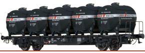 BRAWA 49122 Behältertragwagen Lbs589 DEA DB | DC | Spur H0 kaufen