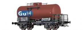BRAWA 49247 Kesselwagen Z [P] | DC | DSB | Gulf Oil | Spur H0 kaufen