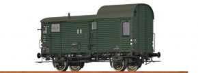 BRAWA 49405 Güterzuggepäckwagen Pwg DR | DC | Spur H0 kaufen