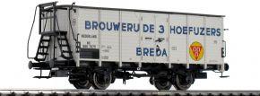BRAWA 49776 Bierwagen G10 | DC | NS | Brouwerij de 3 Hoefuzers | Spur H0 kaufen