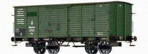 BRAWA 49825 Güterwagen Gm K.Bay.Sts.B.   DC   Spur H0 kaufen