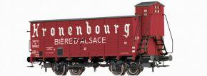 BRAWA 49847 Bierwagen Hlf Kronenbourg SNCF | DC | Spur H0 kaufen
