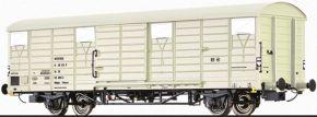 BRAWA 49913 Güterwagen Tehmnos Interfrigo DR | DC | Spur H0 kaufen