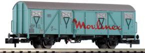 BRAWA 67817 Gedeckter Güterwagen Gos 245 Moulinex DB | Spur N kaufen