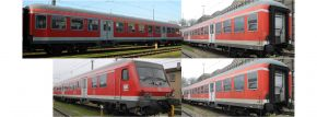 BRAWA B1913 4-tlg. Set Silberlinge | DC | DB | + Gratiswagen | LED | Spur H0 kaufen