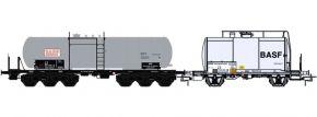 BRAWA B2006 2-tlg. Güterwagen-Set BASF DB | DC | Spur H0 kaufen