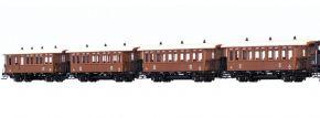 BRAWA B2011 4-tlg. Personenwagen-Set zur BR 178  kkStB | DC | Spur H0 kaufen
