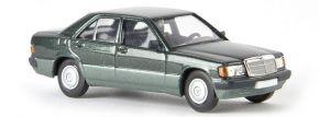 BREKINA 13206 Mercedes-Benz 190D W201  grünmetallic Automodell 1:87 kaufen