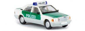 BREKINA 13211 Mercedes-Benz 190E W124 Polizei Stuttgart Blaulichtmodell 1:87 kaufen