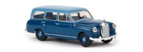 BREKINA 13465 Mercedes-Benz 180 Kombi W120 hellblau dunkelblau Automodell 1:87 kaufen