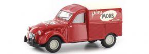 BREKINA 14174 Citroen 2CV Kastenente Mons Bieres rot | Automodell 1:87 kaufen