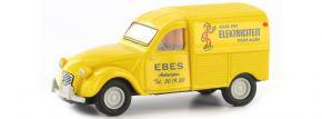 BREKINA 14182 Citroen 2CV Kastenente Ebes Elektriciteit gelb | Automodell 1:87 kaufen