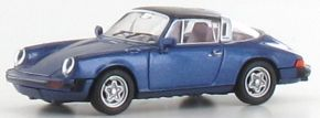 BREKINA 16364 Porsche 911 G targa metallic dunkelblau | Auto-Modell 1:87 kaufen
