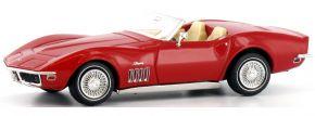 BREKINA 19969 Corvette C3 Cabrio, signalrot   Automodell 1:87 kaufen