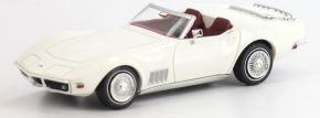 BREKINA 19972 Corvette C3 Cabrio, weiß TD Modellauto 1:87 kaufen