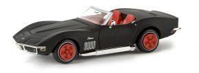 BREKINA 19973 Corvette C3 Cabrio mattschwarz TD | Modellauto 1:87 kaufen