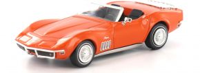 BREKINA 19974 Corvette C3 Cabrio, orange TD Modellauto 1:87 kaufen