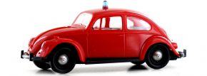 BREKINA 25049 VW Käfer Feuerwehr | Blaulichtmodell H0 kaufen