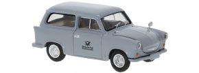 BREKINA 27552 Trabant P 50 Kombi grau 1960 Deutsche Post | Modellauto 1:87 kaufen